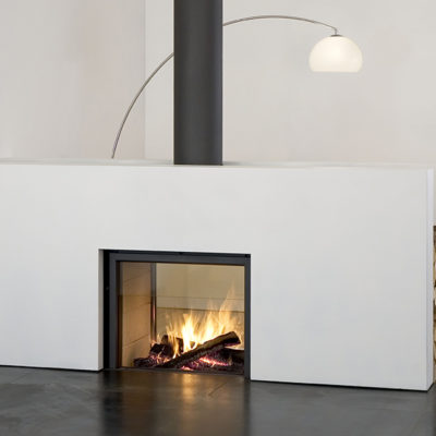 Fireplace Specialties - Cladding In Coloured Steel